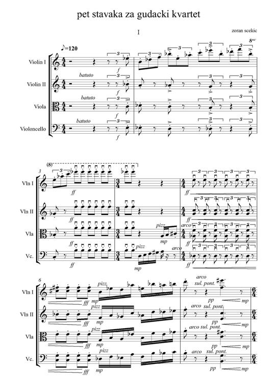 Works in equal temperament (Books & Music Sheet) | Zoran Scekic